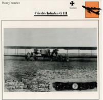 FRIEDRICHSHAFEN  G   III        (NUOVO CON DESCRIZIONE E SCHEDA TECNICA)  2 SCAN - 1914-1918: 1. Weltkrieg