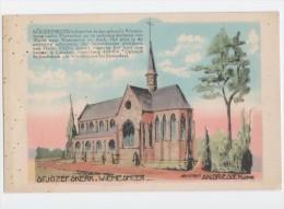 Genk; Architect: AN. DRIESSEN / St.Josefs Kerk - Wiemesmeer Onder Zutendaal  ( Bij Bilzen Waterschei En Asch) - Zutendaal