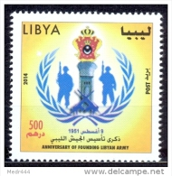 Anniversary Of Founding Libyan Army - Libië