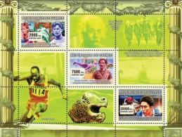 GUINEA 2007 - Olympics, Gymnastics, A. Braglia - YT 2873-5; Mi 4548-50 - Gymnastik