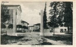 Pre-WWII View C 1930 Real Photo Postcard Italia Friuli-Venezia Giulia Farra D'Isonzo - Autres Villes