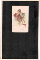 2015 04 05 Illustrateur Mauzan LOT DE 5 Cartes, Fillette, Femme, Couple - Mauzan, L.A.