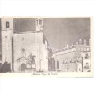CCRTP4087-LFTD5007.Tarjeta Postal DE CACERES.Edificios.Monumento.PLAZA DE TRUJILLO..Caceres. - Cáceres