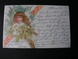 == Engel, Litho Trier Wittlich 1903 - Engel