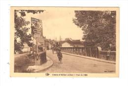 CPA : 03 - Cosne Allier : Pont De L'Oeil : Pont - Enfants - Attelage - Maisons - Clocher - Panneau - Altri Comuni
