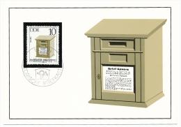 ALLEMAGNE DDR - 4 CARTES MAXIMUM => Boites Aux Lettres Anciennes - 1985 - Correo Postal