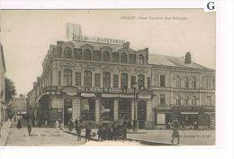 CPA (49) Cholet - Place Travot & Rue Nationale - Palais Marchand - (018) - Cholet