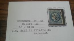 LOT 252525 TIMBRE DE FRANCE OBLITERE N�46B VALEUR 25 EUROS TB