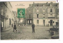 CPA (49) Cholet - Rue Des Bons-Enfants - Belle Animation . (023) - Cholet