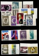 Tous De 1965 >  22 Timbres   NON DENTELES  Tirage 300 Ou 370 Exemplaires Seulement - Belgique