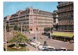 21 Dijon Hotel De La Cloche Place Darcy Carte RARE Edit De L'est Protet Voiture Automobile Citroen DS - Dijon