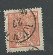 1866 USED  Mi 16, Sweden, Sverige, Schweden, Gestempeld - Usati