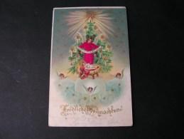 == Weinachten Gloria Mit Stoff Nach Niedernhausen Taunus 1902 - Saints