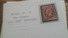 LOT 252614 TIMBRE DE FRANCE OBLITERE N�17A