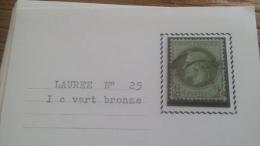 LOT 252668 TIMBRE DE FRANCE OBLITERE N�25