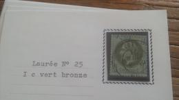 LOT 252676 TIMBRE DE FRANCE OBLITERE N�25 TB