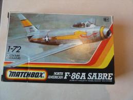 Maquette à Construire F-86A Sabre Matchbox - Avions