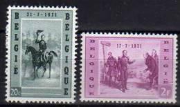 Belgique N° 1020 / 1021 Luxe ** - Bélgica