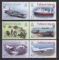 Falkland 2002 - 20e Ann Libération Falkland  - 6v *** (MNH) - Falkland Islands