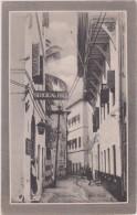 AFRIQUE,océan Indien,TANZANIE,TANZANIA, ZANZIBAR EN 1900,main Road,surgical Hall,afrika Hotel,ex Colonie Britanique,rare - Tanzanie