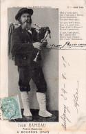 """Cpa  18  Bourges , """" Jean Rameau """" Poete Sabottier , Avec Poeme Et Signature, Beau Plan - Bourges"""
