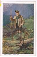 1/2. Entier Privé. Expo Internationale De La Chasse/Jagd. Wien 1910. Cachet Vert =2.VI 1910. Verso= François Joseph. - Briefmarken