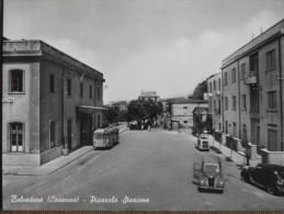 BELVEDERE -PIAZZALE STAZIONE -AUTO  EPOCA --BELLISSIMA - Cosenza