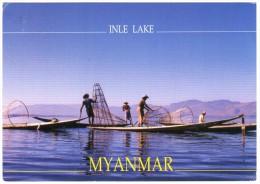 MYANMAR (BURMA) - INLE LAKE / FISHERMEN - Myanmar (Burma)