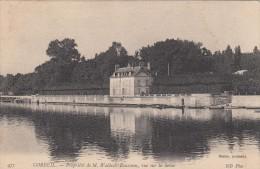 Cp , 91 , CORBEIL , Propriété De M. Waldeck-Rousseau, Vue Sur La Seine - Corbeil Essonnes