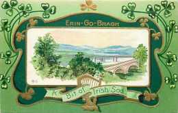 236695-Saint Patrick´s Day, Nash St Patrick Series No 7-1-Gold, Erin Go Bragh, A Bit Of Irish Sod, Bridge - Saint-Patrick's Day