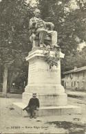 BOURG - Statue Edgar Quinet                                                      -- NG 21 - Non Classificati