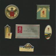COFFRET 5 PINS JEUX OLYMPIQUES ALBERTVILLE 1992 BON ETAT - Olympic Games