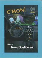 OPEL CORSA - C'MON! - Interior Sexy - PUBLICIDADE - Advertising - Portugal - 2 SCANS - Turismo