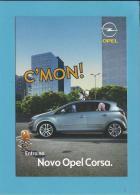 OPEL CORSA - C'MON! - O Fabulástico, Maravilhástico, Extraordinástico - PUBLICIDADE - Advertising - Portugal - 2 SCANS - Turismo