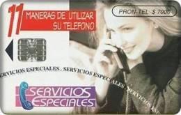 Colombia - COL-EM-023A, Pron Tel, Servicios Especiales, 12/07, Used - Colombia