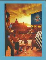 MARTINI - 01 / 2006 - LIVE MONDO - Manifesto - ADVERTISING - Postcard From PORTUGAL- 2 Scans - Alcohols
