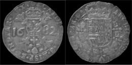 Brabant Karel II Patagon 1682 - Belgique