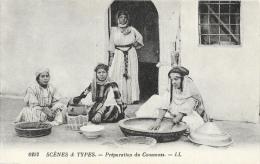 Algérie - Scènes Et Types - Préparation Et Couscous - Carte LL N°6252 Non Circulée