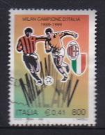 Italy 1999 Milan Campione DItalia Used - 6. 1946-.. Republic