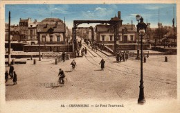 CHERBOURG - Le Pont Tournant  TBE - Cherbourg