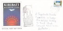 Kiribati 2004 Cover Sent To Australia - Kiribati (1979-...)