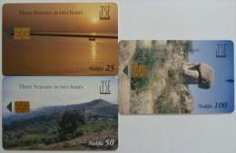 ERITREA - Chip - TSE - Three Seasons In Two Hours - Set Of 3 -  - Used - Eritrea