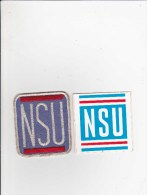 NSU - Moto - Voiture 1 Patch + 1 Sticker - Voitures