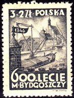 POLAND 1946 Bydgoszczy Fi 402 Mint Never Hinged - Gebraucht