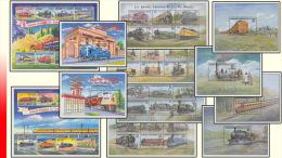 Congo BL 167/78**  Trains  MNH