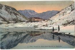 Suisse VS - Hospice Du GRAND SAINT BERNARD En Septembre   Neuve Colorisée Excellent état - VS Valais