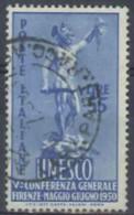 ITALIA REPUBBLICA - US 1950 (CATALOGO N.° 619) (2827) - 6. 1946-.. Repubblica
