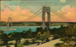 GEORGE WASHINGTON BRIDGE - Ponts & Tunnels