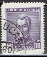 CHILE # STAMPS FROM YEAR 1952 STANLEY GIBBONS 449 - Chile