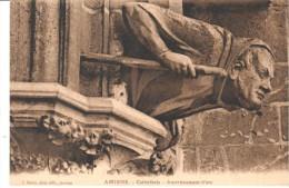 POSTAL    AMIENS  -FRANCIA  -CATHEDRAL - AMORTIZACION DEL ARCO  (AMORTISSEMENT D'ARC ) - Amiens